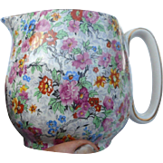 Vpntage Lord Nelson ware made in England chintz 4 inch pitcher Marina
