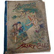 1896 edition Fairy tales for children  by Hans Christian Andersen