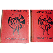 Two vintage childrens books 1934 Buddy and the Secret Cave and buddy at Pine Beach
