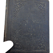 1857 edition of Temple Melodies many adapted tunes for public social and private worship