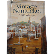 1978 edition of Vintage Nantucket Massachusetts dust jacket illustrated