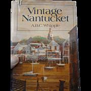 1978 edition of Vintage Nantucket Massachusetts dust jacket illustrated