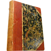 1856 edition Collection of British Authors miniture hard cover  King Solomons mines
