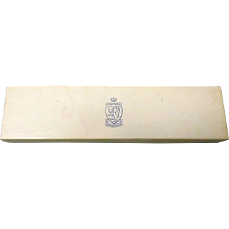 Kirk matz sheffield pear;l handled stainless steel 11 inches original box