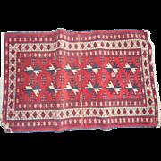 Cieca 1910 oriental  rug runner 22 x 36 inches