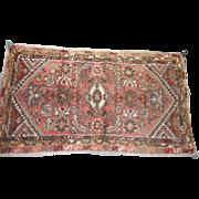 Circa 1900 0riental rug runner 29 x 50 inches