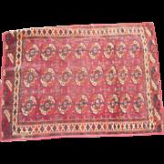 Circa 1930 oriental rug  39 x50 inchesl