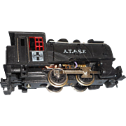 A T and Sante fe locomotive steam