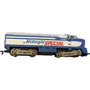 Tyco h o gauge Midnighty Special locomotive  2060