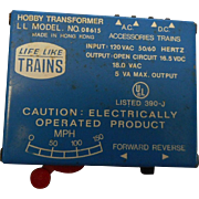 Vintage model railroad transformer hobby modelo8615