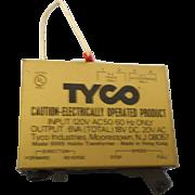Vintage model train transformer Tyco model 8998