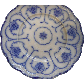 3 circa 1890 Petnus Regout excelsior pattern 9 inch plates