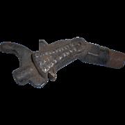 1884 patent Perfection coviillve 8 oil tank spigot iron