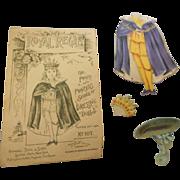 Rapheal Tuck patent 1894 paper dressing dolls with original envelope