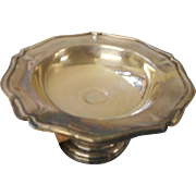 Vintage silver plate compote excellent condition