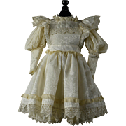 Gorgeous 2-Piece Outfit for Larger Bru, Jumeau, Steiner, Gaultier