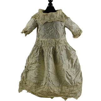 Extremely Fragile Antique Silk Dress