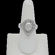 Lady's Diamond Cluster Ring