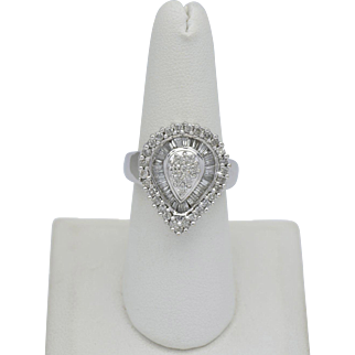 Lady's Diamond Cluster Ring