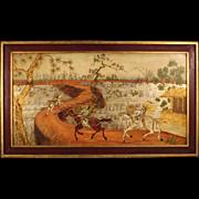 20th Century Orientalist Landscape Painting