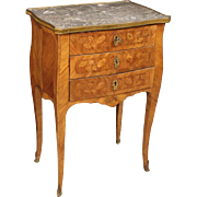 19th Century French Inlaid Nightstand