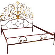 20th Century Iron Bed