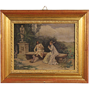 19th Century Signed Spanish Painting
