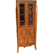 20th Century French Corner Cupboard