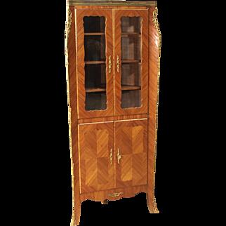 20th Century French Corner Cupboard