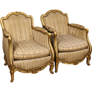 20th Century Pair Of French Armchairs