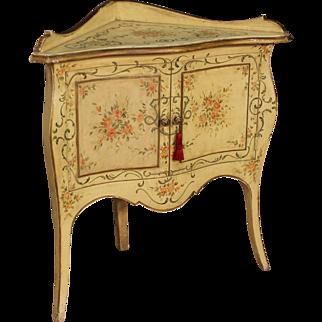 20th Century Venetian Corner Cupboard