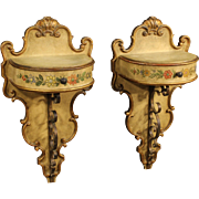 20th Century Pair Of Spanish Bedside Tables