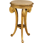 20th Century French Tripod Table