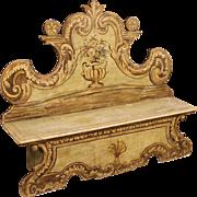 20th Century Venetian Bench