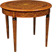 20th Century Italian Inlaid Table