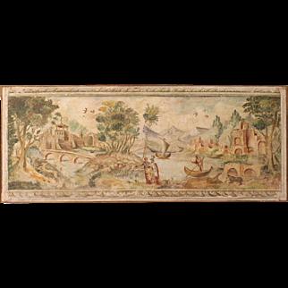 20th Century Italian Landscape Painting