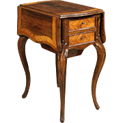 19th Century French Side Table In Rosewood