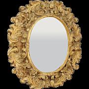 20th Century Italian Gilt Mirror