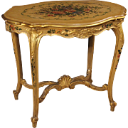20th Century Venetian Gilded Coffee Table