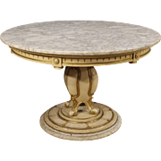 20th Century French Lacquered And Gilt Table