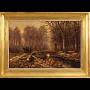 20th Century Dutch Landscape Painting