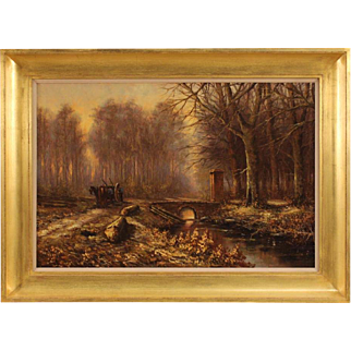20th Century Dutch Landscape Painting