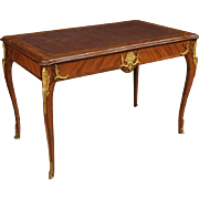 20th Century French Writing Desk In Rosewood