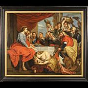 18th Century Flemish Religious Painting