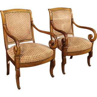 19th Century Pair Of French Armchairs