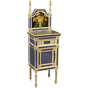 20th Century Italian Night Stand In Lacquered Wood
