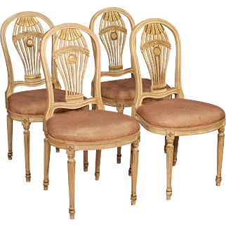 20th Century Group Of Four French Chairs