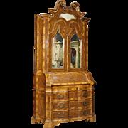 20th Century Venetian Trumeau In Walnut