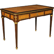 20th Century French Writing Desk In Mahogany And Rosewood