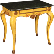 20th Century Italian Lacquered Side Table